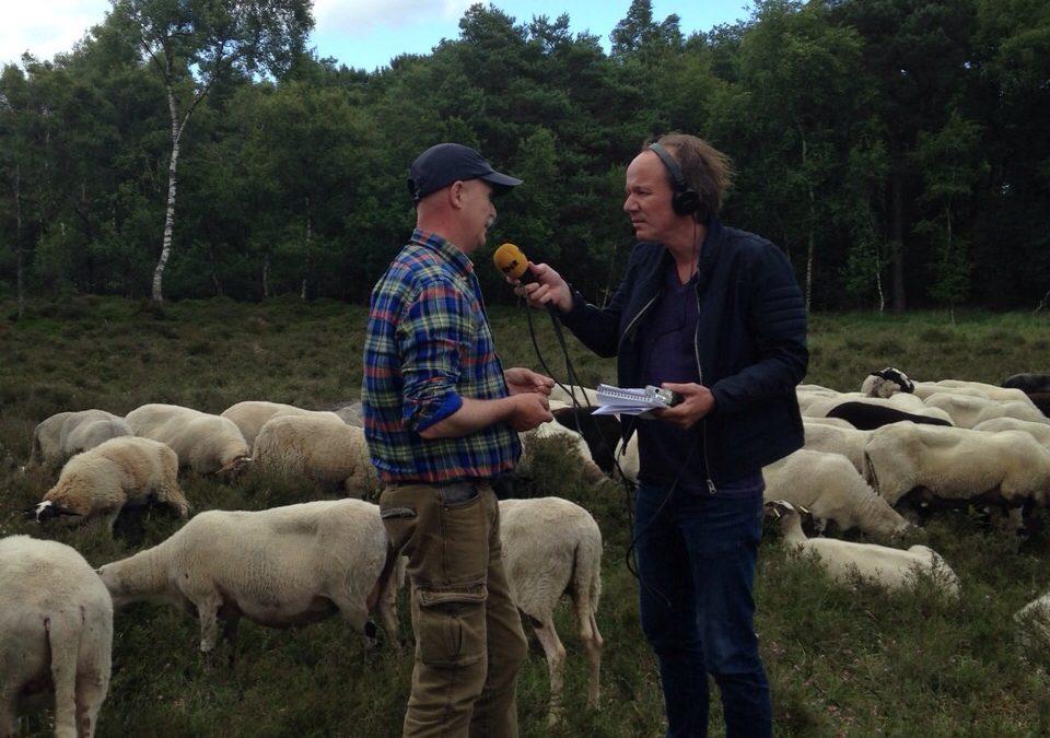 Interview door BNR Nieuwsradio over teken